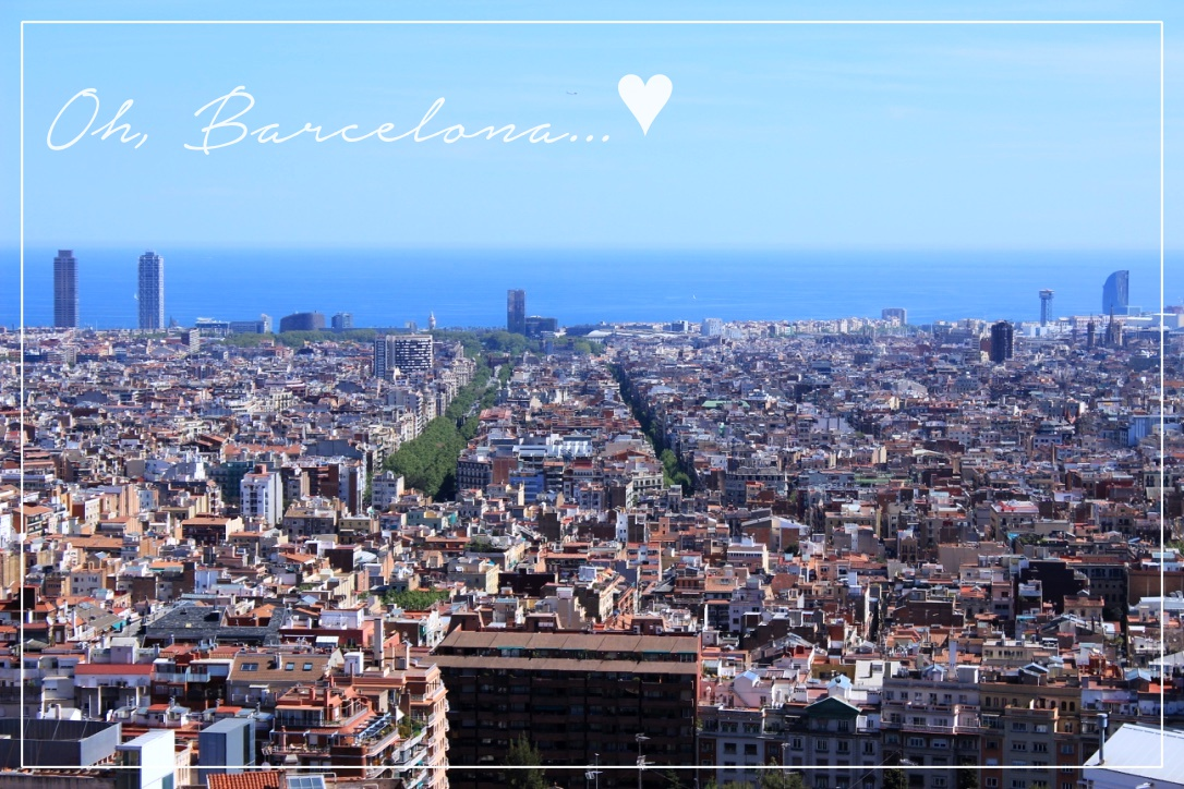 Dear Barcelona, You stole my heart ♥