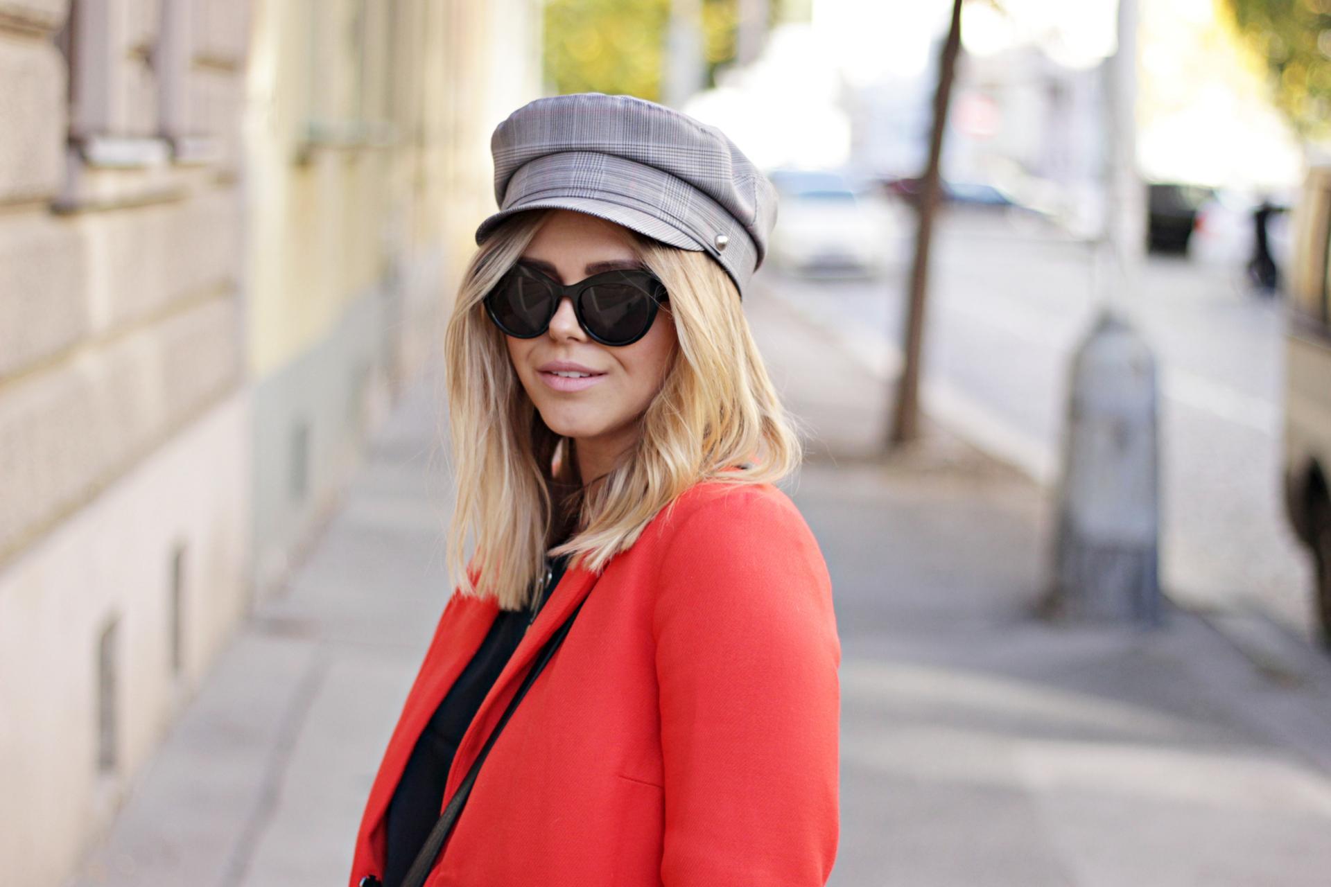 Red coat inspo